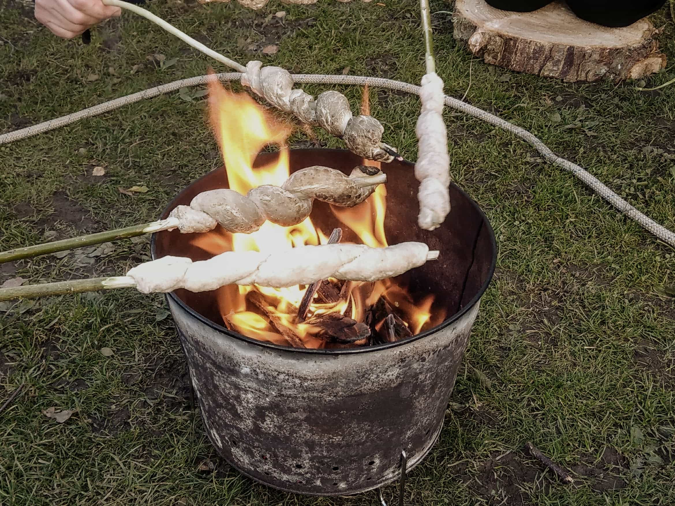 campfire training forest school