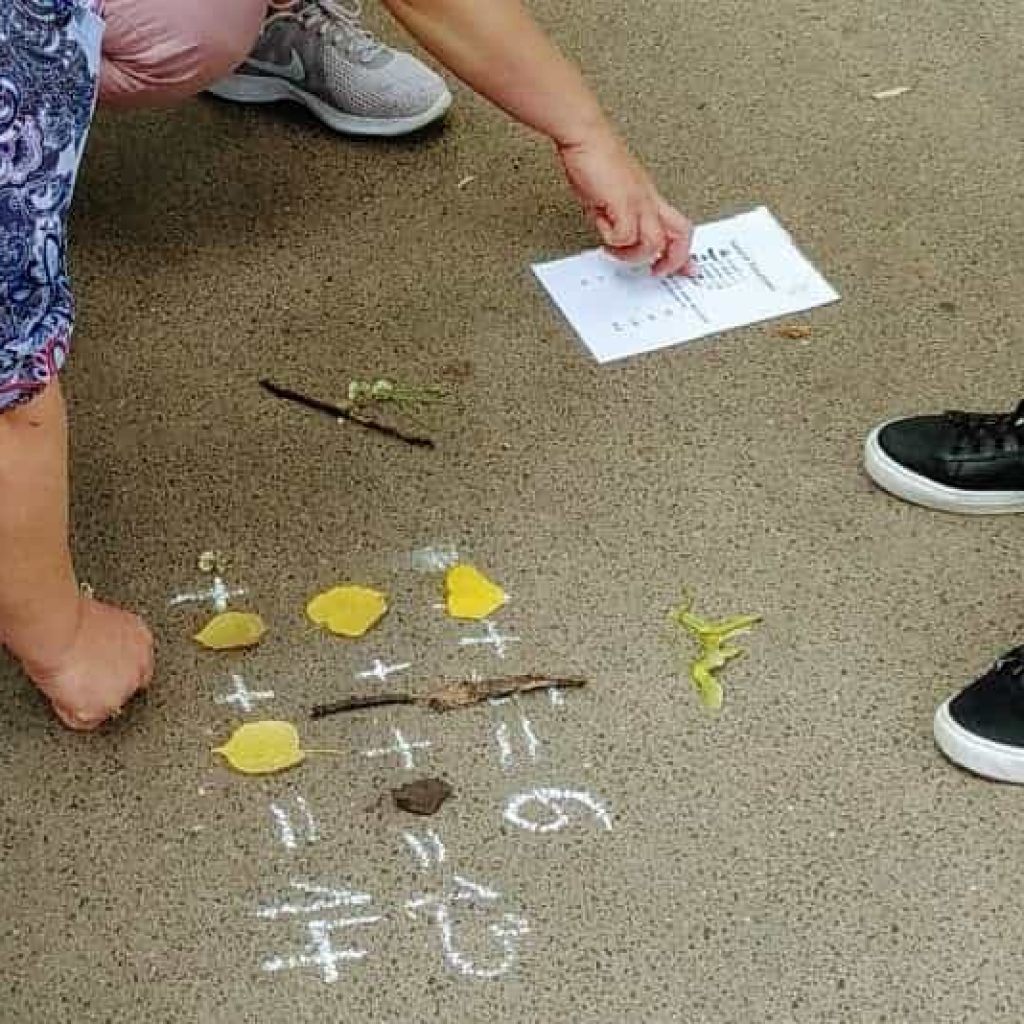maths outdoor learning training