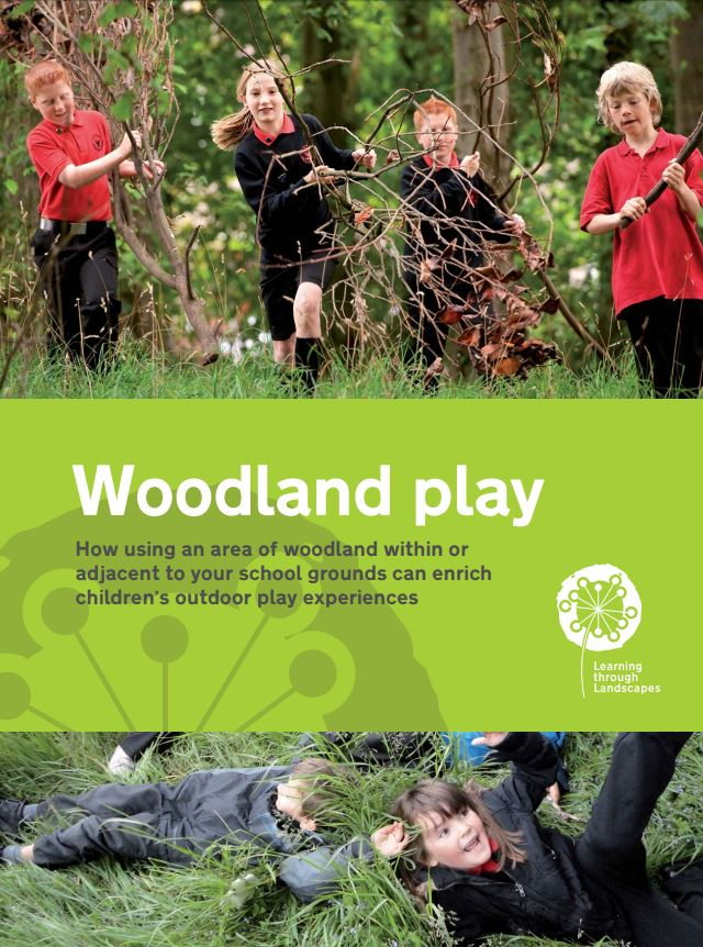 Woodland Play in School Grounds booklet