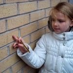 maths outdoors in the primary school