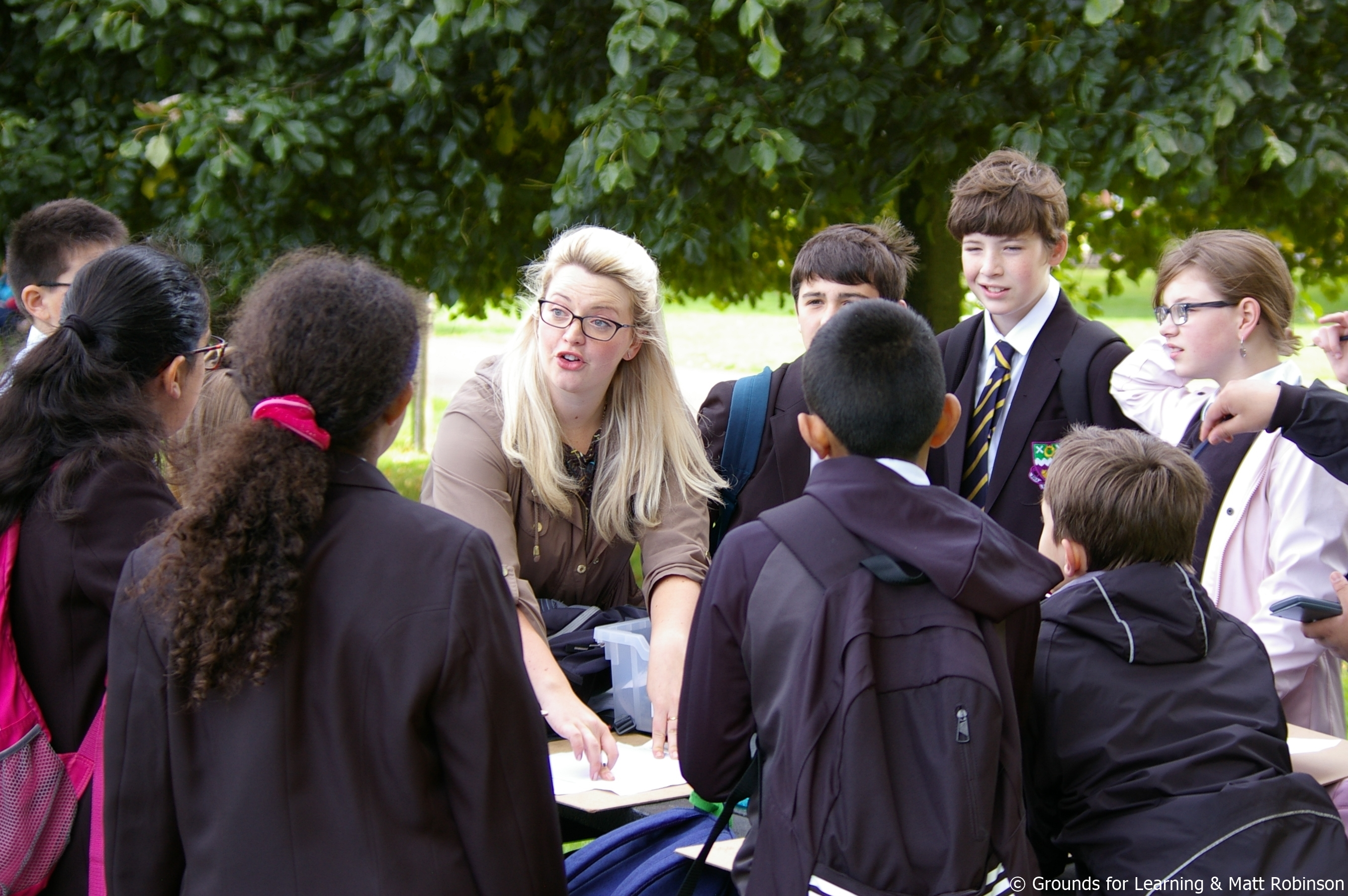 outdoor learning audit