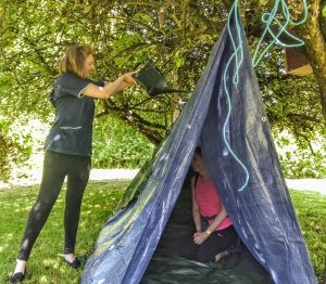 shelter building outdoor learning