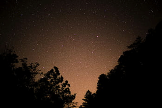 outdoor lesson idea star gazing