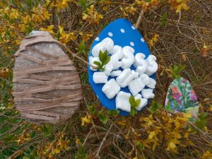 outdoor lesson outdoor easter egg art