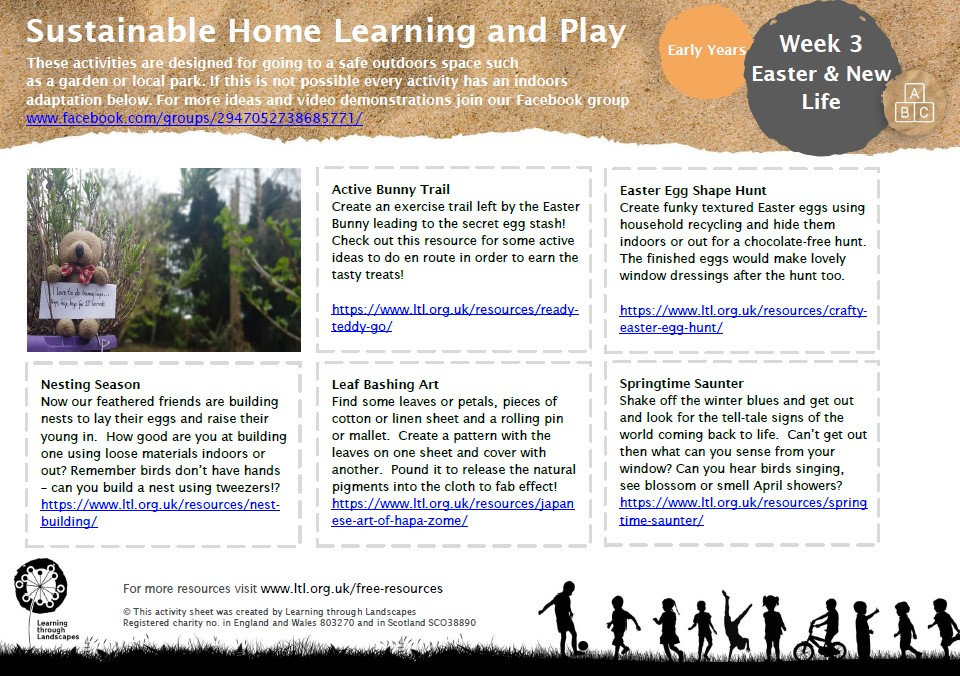 homeschool outdoor learning