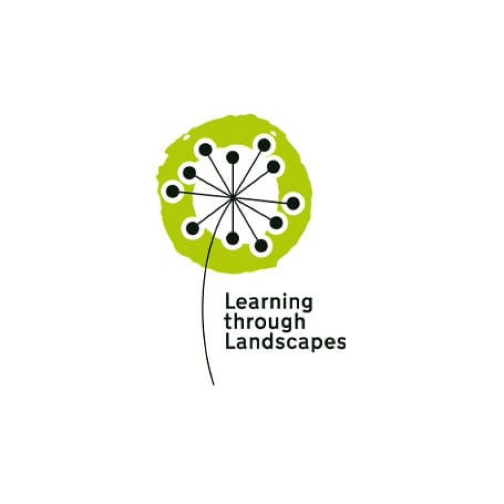 learning through landscapes square logo