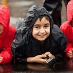 Over 200 children to receive wet weather clothing